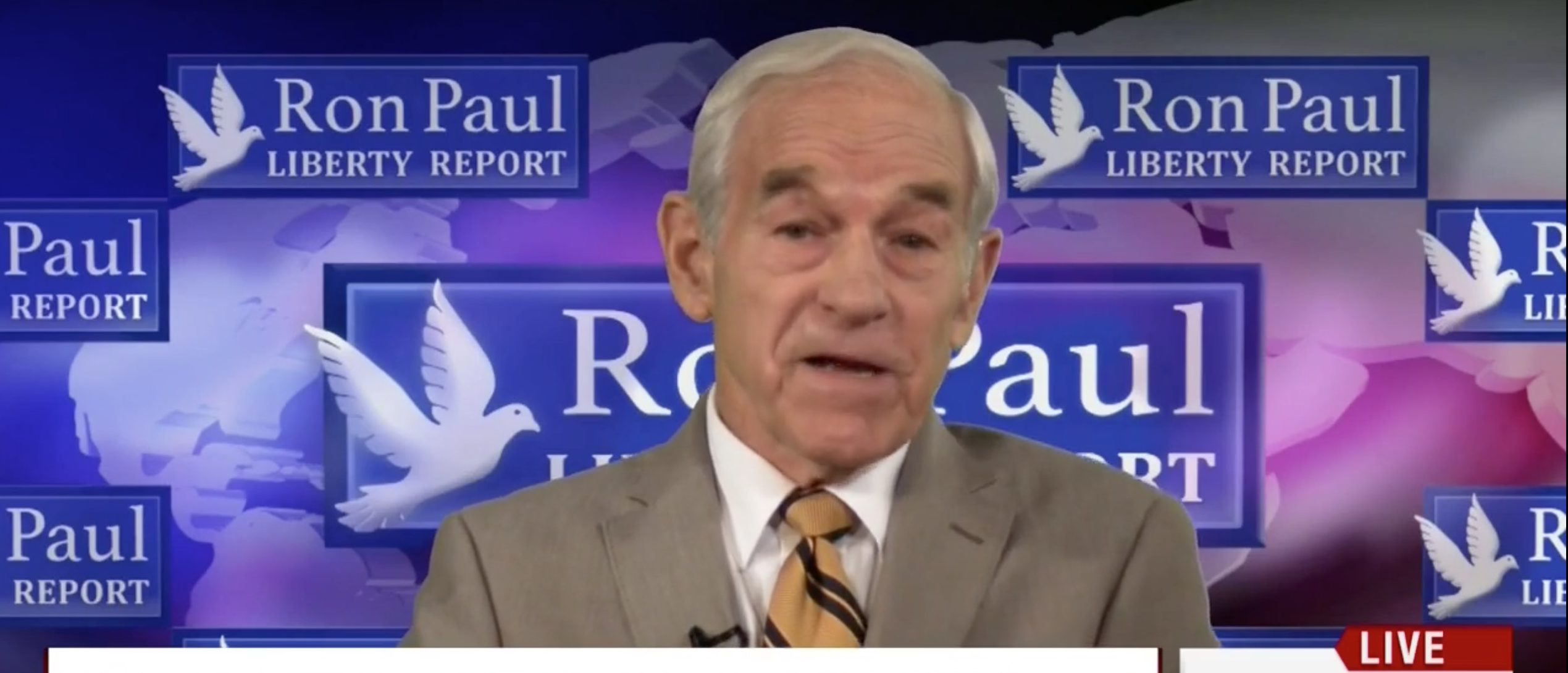 Ron Paul, Screen Grab MSNBC, 6-6-2016