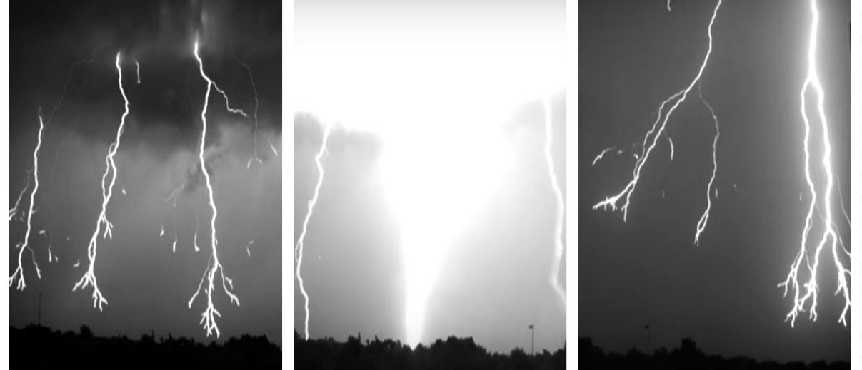 Slow-Mo Footage Of Florida Lighting Storm Is Straight Out Of 'The Twilight Zone' (Florida Institute of Technology YouTube)