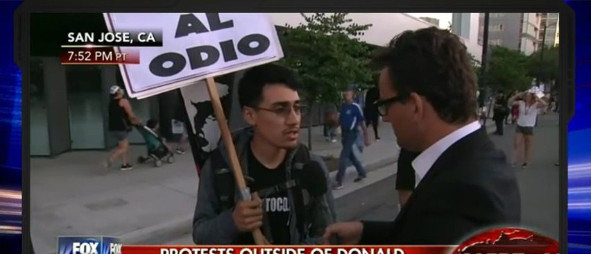 Trump Protester Admits He's Illegal, Says 'No Reason To Respect The Laws' (Fox News)