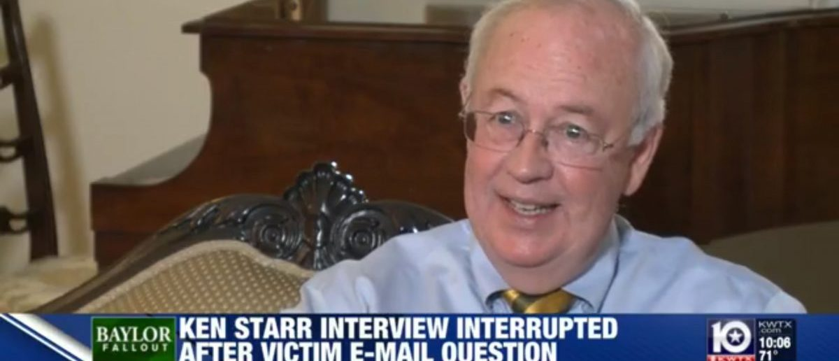 Ken Starr (Credit: Screenshot/KWTX Video)