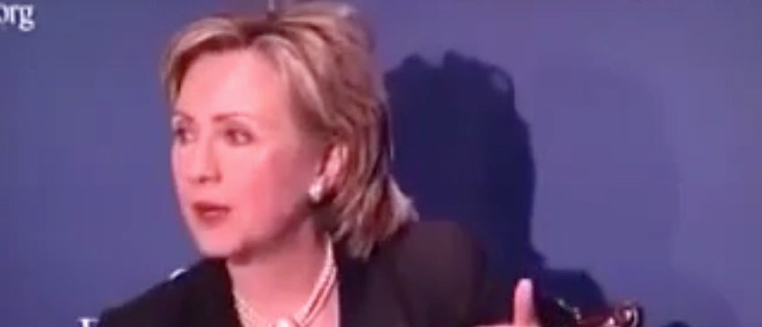 FLASHBACK: Hillary Says We Need To Build A Border Wall And Deport Criminal Immigrants (YouTube)