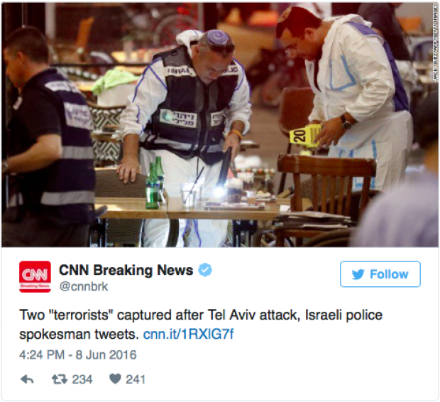 CNN Deletes Tweets With Scare Quotes Blaming