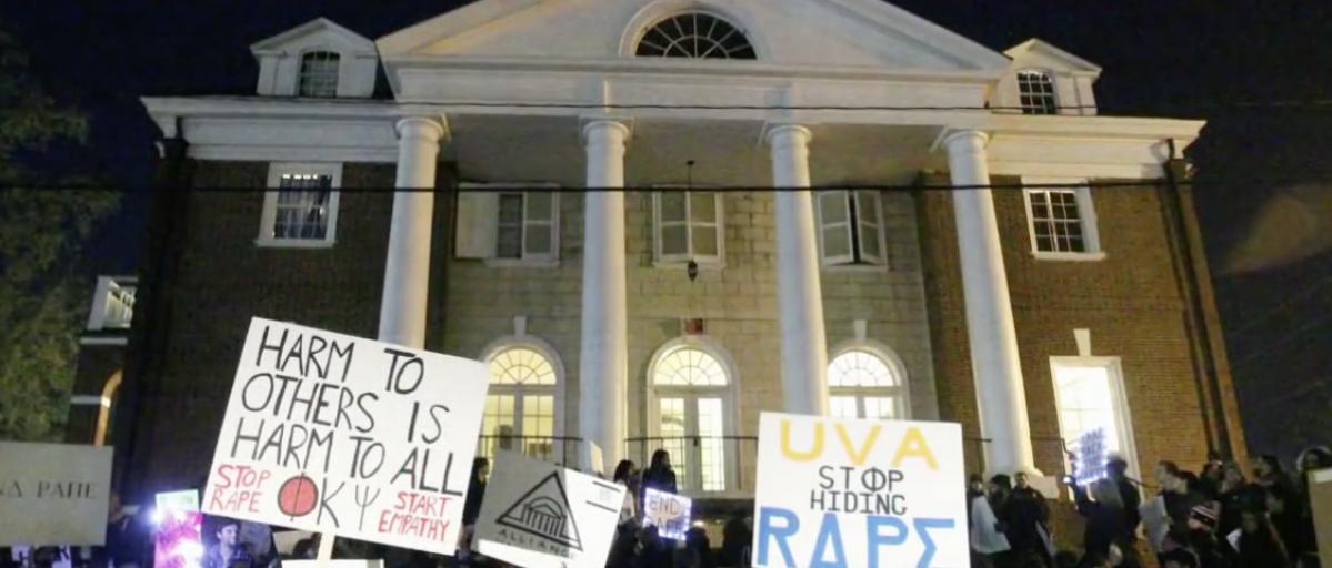Phi Kappa Psi fraternity at University of Virginia (Screen shot ABC News)