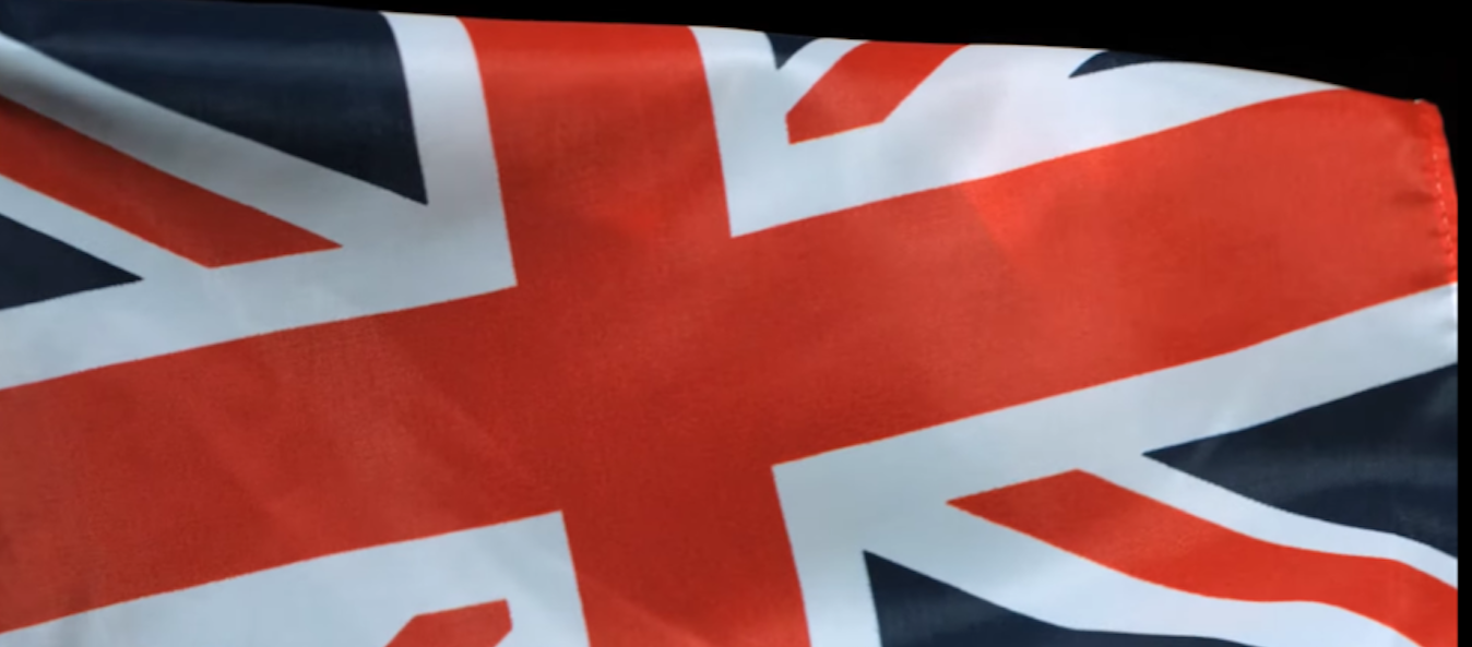 British Union Jack Flag (Epic Slow Mo You Tube/ Video Screen Capture)