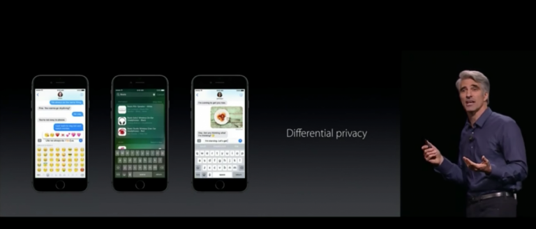 "Apple is developing a new data collection feature known as ""differential privacy."" (Youtube Screenshot: Cameron Nicholson)"