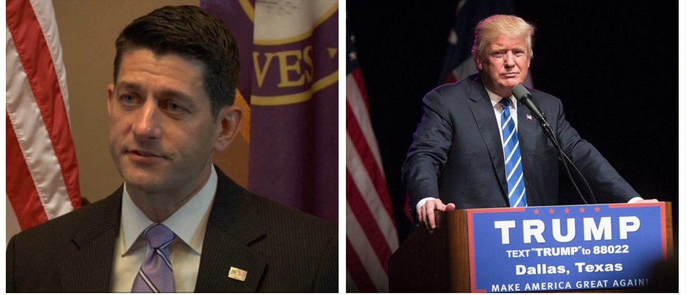 Paul Ryan: I'd 'Sue' President Trump If He Bans Muslims (Huffington Post/Getty Images)