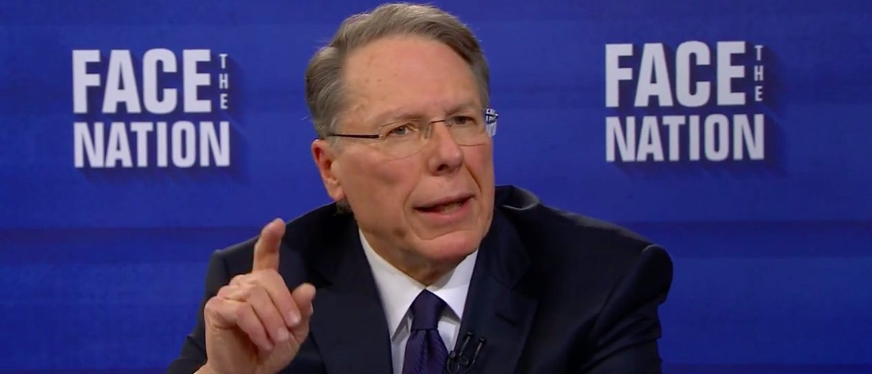 NRA VP: 'We Need To Face What's Coming. They're Trying To Kill Us' (Screen shot CBS)