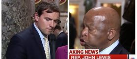 John Lewis Probably Needs A Cigarette After What Luke Russert Just Did To Him [VIDEO]