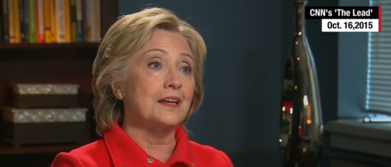 """Hillary Clinton claimed her private e-mail server followed guidelines and said, """"It was allowed under the rules of the state department… it was allowed."""" A federal judge responded to this and did not agree. He said that it """"violated government policy"""" when she used a private server to keep official State Department messages. (Photo: Youtube screen grab)"""
