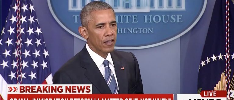 Obama: SCOTUS Ruling Doesn't Change My 'Priorities' -- I'm Still Not Deporting Illegals (MSNBC)