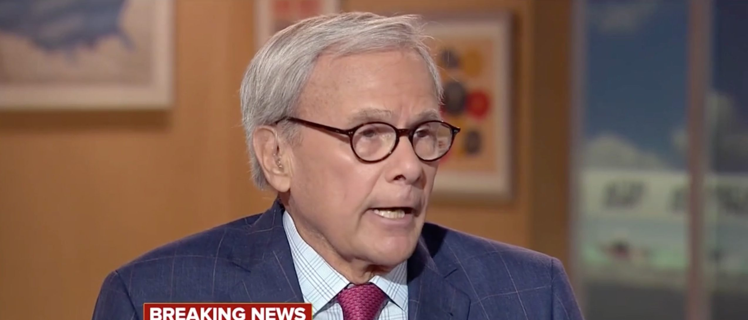 Tom Brokaw, Screen Grab NBC, 6-12-2016