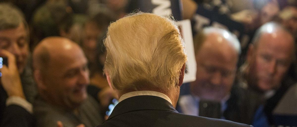 Trump back Getty Images/Scott Eisen