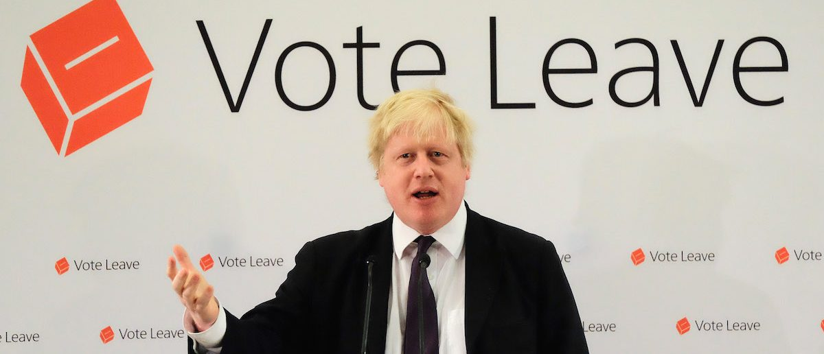Boris Johnson Leads 48Hour Brexit Blitz Of Campaigning