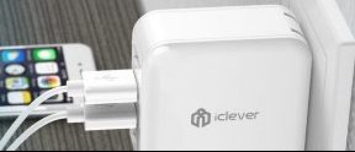 Daily Caller readers can get an exclusive discount on USB wall chargers until June 15 (Photo via iClever)