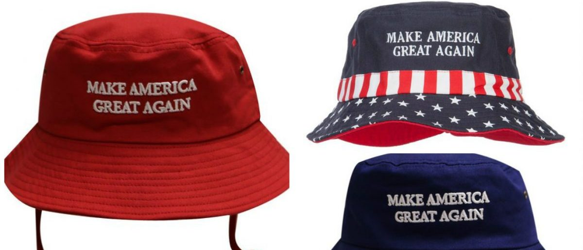 Probably everyone should have at least one of these bucket hats now that it's summer and Trump is the nominee (Photo via Amazon)
