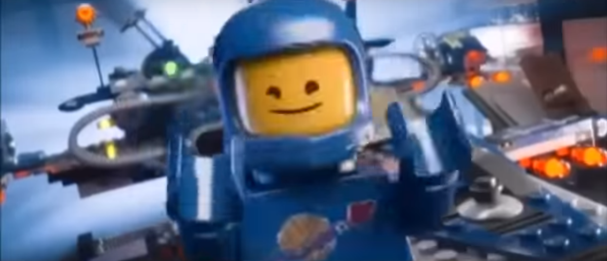 Youtube Screenshot from The Lego Movie (Youtube/Bunni in a Frenzy :3)