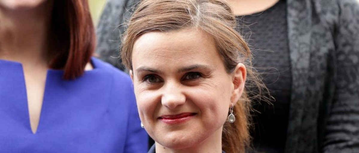 Batley and Spen MP Jo Cox is seen in Westminster May 12, 2015. Yui Mok/Press Association/Handout via REUTERS