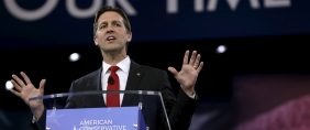 U.S. Senator Ben Sasse (R-NE) speaks at the American Conservative Union 2016 annual conference in Maryland March 3, 2016. REUTERS/Gary Cameron.