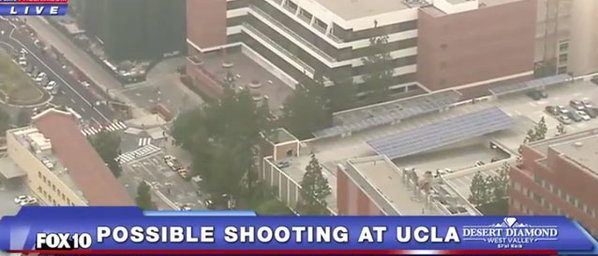 UCLA Shooting, Fox10 Phoenix, Screenshot