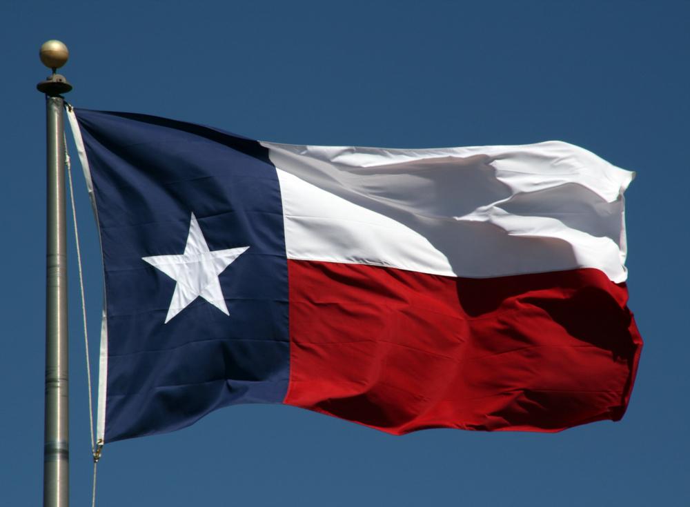 Texas flag (Shutterstock)