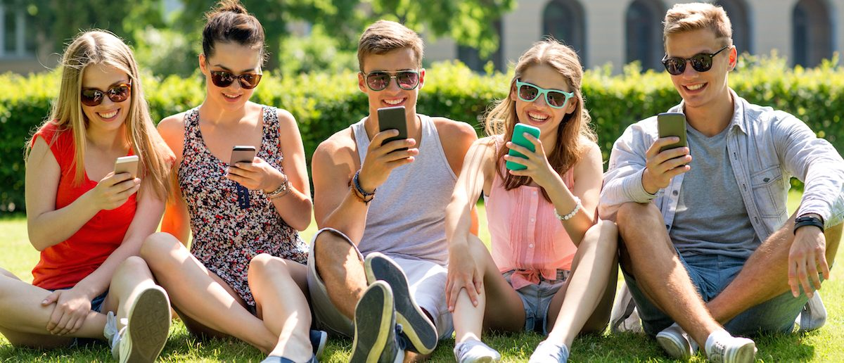Students are great at social media. Photo: Shutterstock