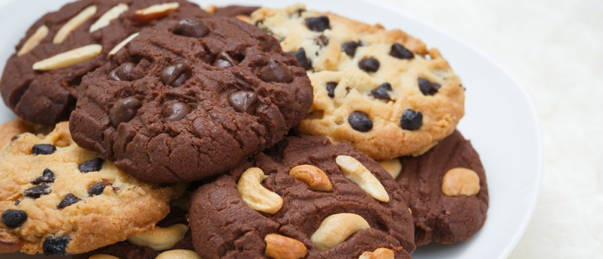 A plate of non-explosive cookies. Source: Darkkong/Shutterstock