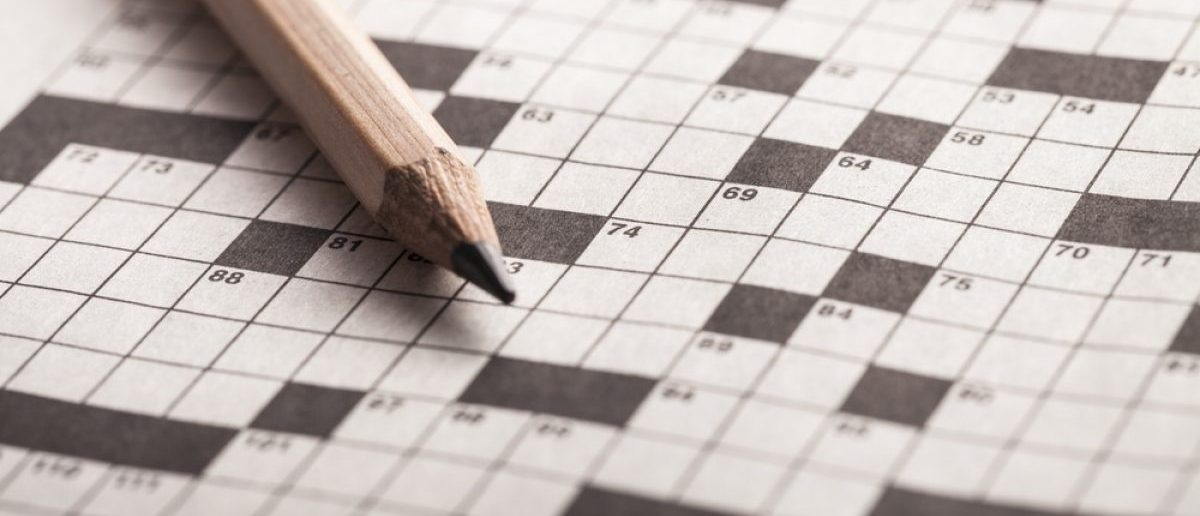 Crossword puzzle. [Shutterstock/Billion photos]