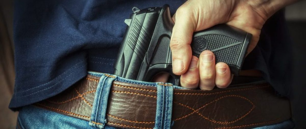 Concealed handgun (Shutterstock)
