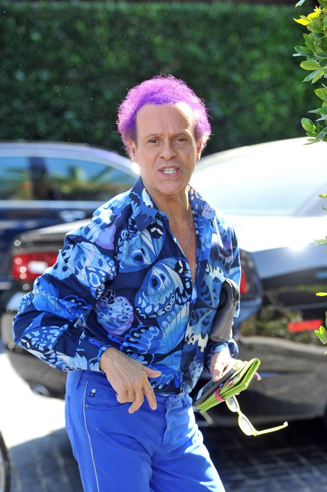 Richard Simmons becoming a woman