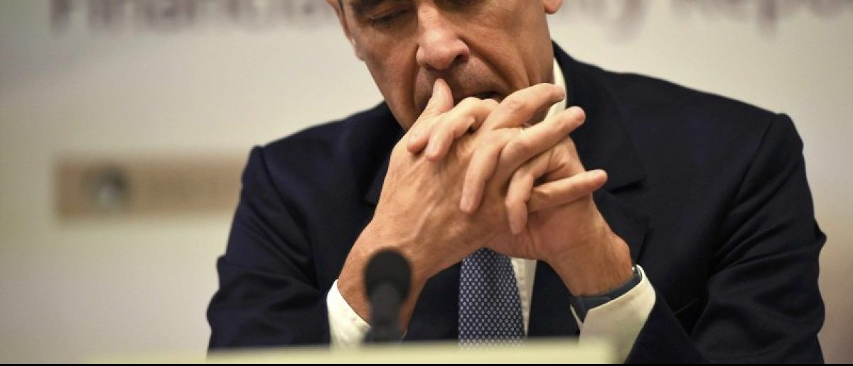 Bank of England governor Mark Carney pauses as he speaks during a news conference at the Bank of England in London, Britain July 5, 2016. REUTERS/Dylan Martinez