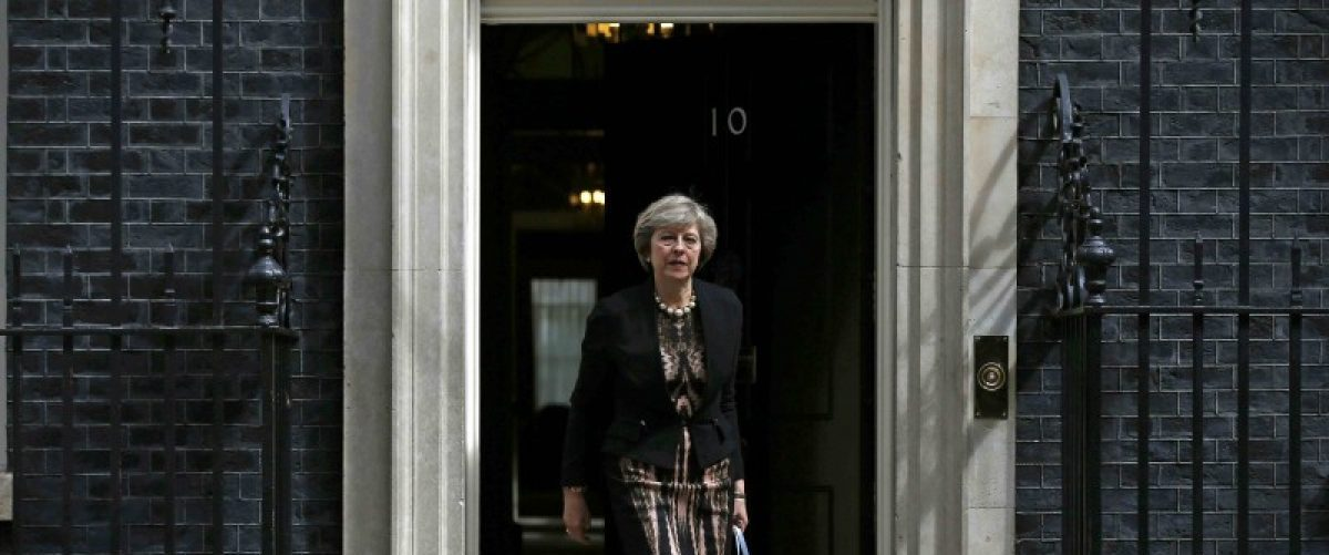 Britain's Home Secretary, Theresa May, leaves after attending a cabinet meeting at Number 10 Downing Street in London, Britain July 5, 2016. REUTERS/Peter Nicholls