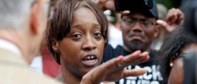 Diamond Reynolds recounts the incidents that led to the fatal shooting of her boyfriend Philando Castile by Minneapolis area police during a traffic stop on Wednesday, at a