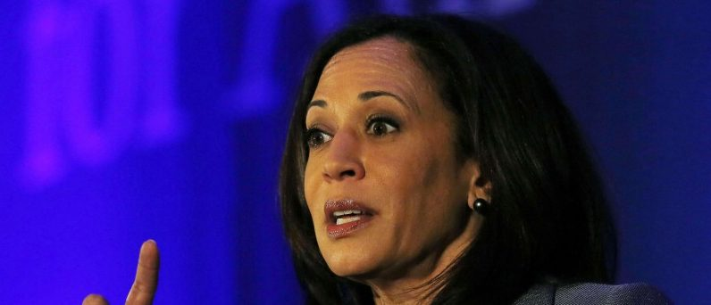 California Attorney General Kamala Harris speaks at the Center for American Progress' 2014 Making Progress Policy Conference in Washington, DC, U.S. on November 19, 2014. REUTERS/Gary Cameron/File Photo