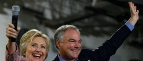 Hillary Clinton Chooses Virginia Sen. Tim Kaine As Running Mate