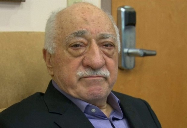 File still image taken from video of U.S.-based cleric Fethullah Gulen, whose followers Turkey blames for a failed coup, speaks to journalists at his home in Saylorsburg