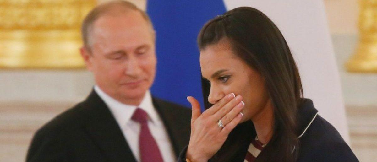 Track-and-field athlete Yelena Isinbayeva