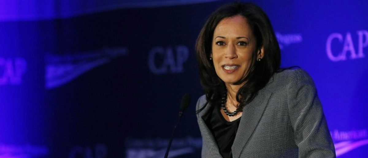 California Attorney General Kamala Harris speaks at the Center for American Progress' 2014 Making Progress Policy Conference in Washington November 19, 2014. REUTERS/Gary Cameron
