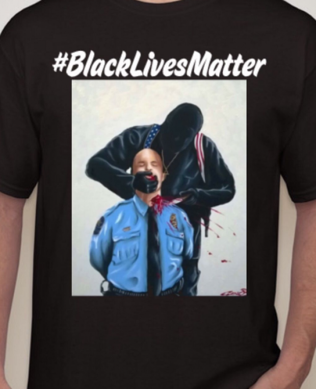 BLM, Cop carnage couture