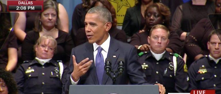 Barack Obama, Screen Grab MSNBC, 7-12-2016