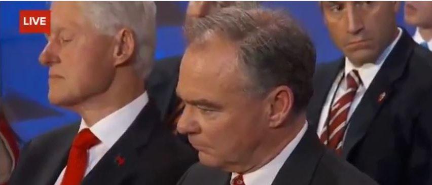 Bill Clinton Apparently Falls Asleep During Hillary's ...