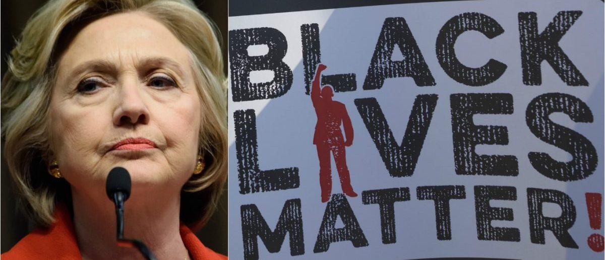 Black Lives Matter Sign Joseph Sohm / Shutterstock.com, Hillary Clinton: Evan El-Amin / Shutterstock.com