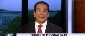 Krauthammer: Trump's Russia Comment 'Set A Trap That The Clinton Campaign Fell Right Into' [VIDEO]