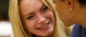 Police Knock Down Lindsay Lohan's Door After She Accuses Fiance Of Strangling Her