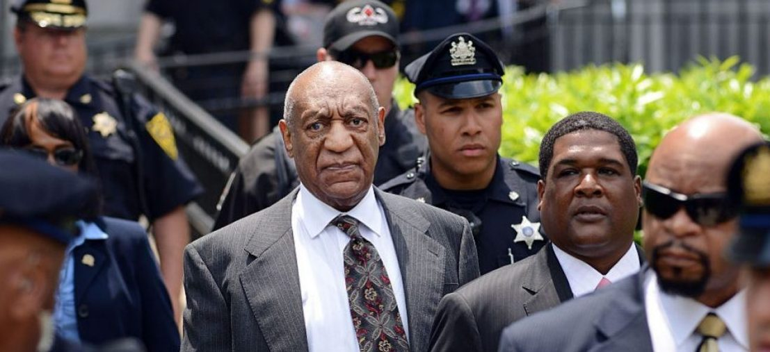Bill Cosby leaves a preliminary hearing on sexual assault charges on May 24, 2016 in at Montgomery County Courthouse in Norristown, Pennsylvania. (Photo by William Thomas Cain/Getty Images)