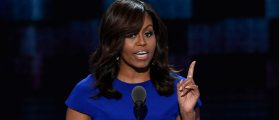 Michelle Obama Takes A Shot At 'Make America Great Again'
