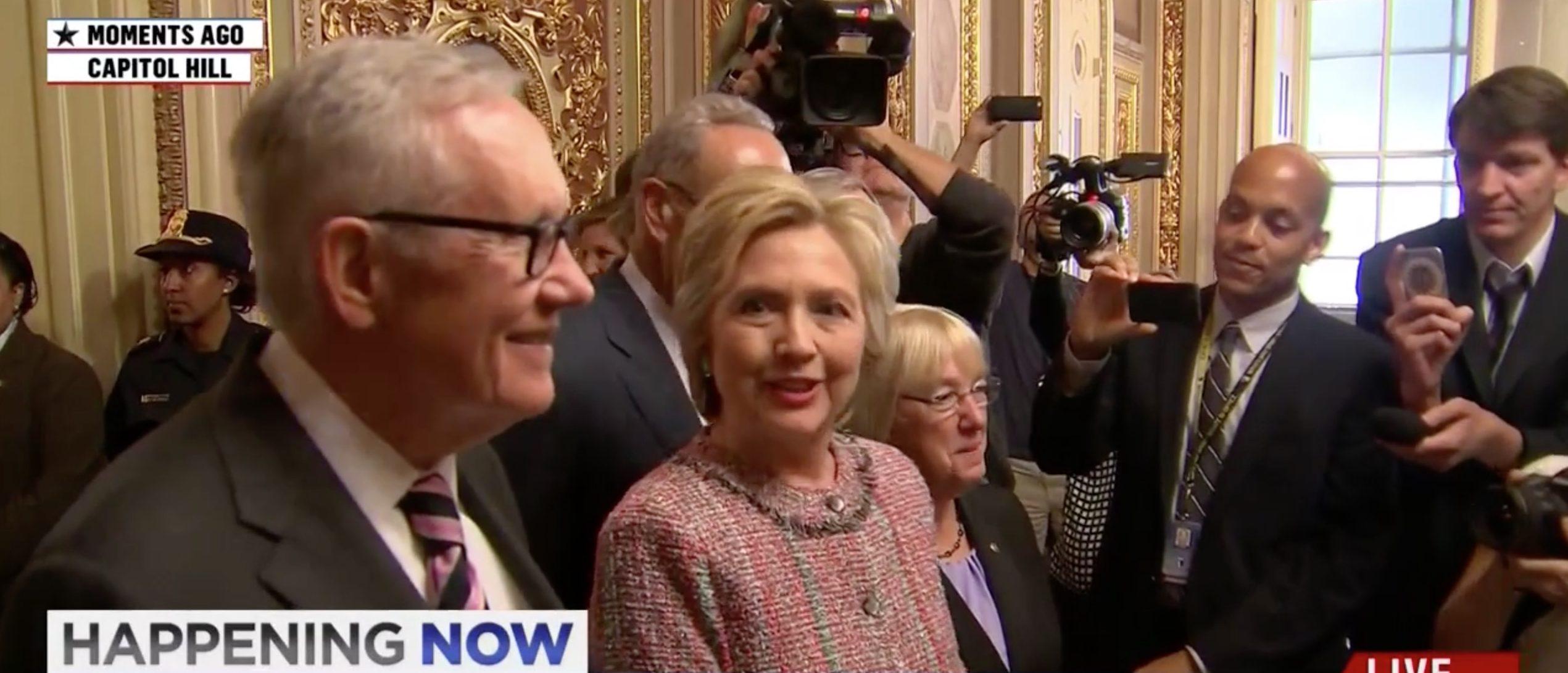 Hillary Clinton, Screen Grab MSNBC, 7-14-2016