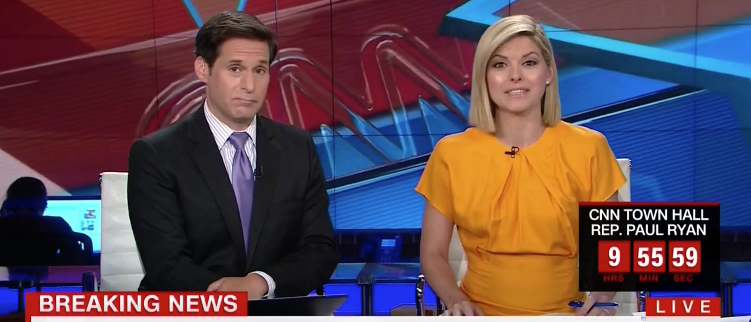 John Berman, Kate Bolduan, Screen Grab CNN, 7-12-2016