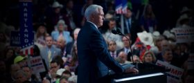 Mike Pence speaking at RNC 2016 Grae Stafford Daily Caller