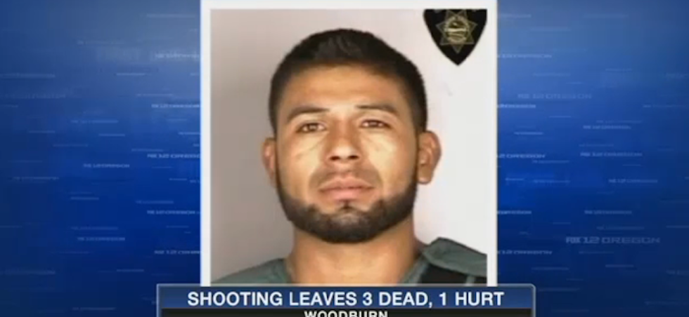 Mug shot of suspect in Ore shooting - Fox 12 Video Screen capture