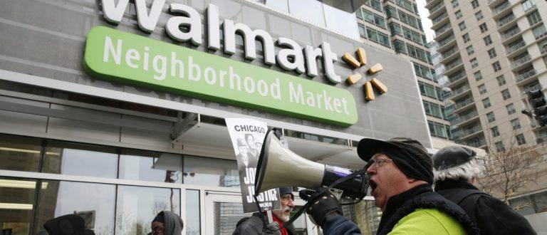 Walmart Employees Strike (REUTERS/Andrew Nelles)